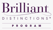 brilliant distinctions program logo